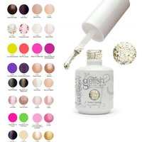 art cans - Top quality Harmony gelish polish LED UV nail art gel ML COLORS can choose bottles