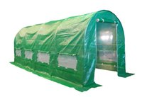Cheap Wholesale-4M(L)x2M(W)x2M(H) quick assembling greenhouse with metal structure and PVC film cover