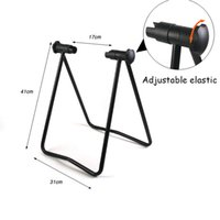 bicycle wheel types - U type Bicycle Racks Mountain Bike Support Frame Universal Bicycle Wheel Hub Foldable Repair Storage Stand Parking Rack