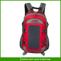 bag with solar panel - 2016 year very hot sale High Quality Solar Bag Solar Charger Backpack With Watts Solar Panel for mobile phone charging