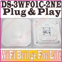 Wholesale DS WF01C NE WiFi bridge MB DRAM MB Flash wireless bridge For Surveillance Cameras in lift DS WF01C N plug and paly no color box