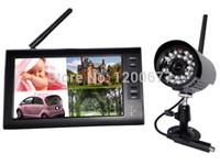 2.4GHz vidéo bébé moniteur 7.0inch Split Quad couleur LCD vidéo nounou babysitter bébé moniteurs soutien 4 caméra détecteur de bébé foetale