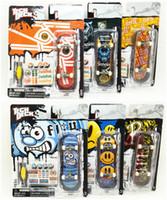 Wholesale mm Fingerboard Tech Decks genuine Skateboard Original package professional set quot almost HABITAT DGK quot E28H