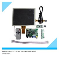 Wholesale 8inch AT080TN52 HDMI VGA AV Driver board touch panel kit for Raspberry Pi