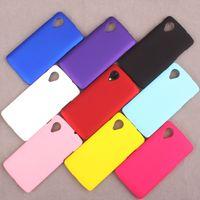 Para LG Nexus 5 de goma de plástico duro PC ultra fino escudo fosco mate caso de protección de colores de lujo teléfono móvil casos