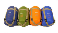 Wholesale Mini super light sleeping bag hiking camping special sleeping bag warm and comfortable convenient sleeping bag