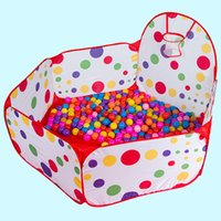 baby casting - 1m Kids Baby Toy Tent Foldable Cast Basketball Ocean Ball Pool Children Tent Play Game House Pool Baby Play Pond Colourful Yard