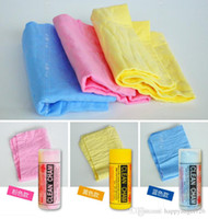 Wholesale Household Cleaning towel cm pva material PVA Magic Towel Clean CareTowel Cloth Cleaning Towel