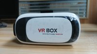 Wholesale Hot VR Box Upgrated Version VR Virtual Reality Glasses D Movie without controller for quot quot Phone