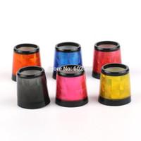 Wholesale Laser Red Grey Yellow Orange Blue Pink Black Golf Ferrule For Iorns Club Shaft I D0 O D0 Lengh