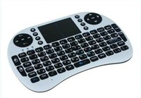 android touchpanel - Hot Russian language wireless keyboard with touchpanel bluetooth air mouse for android tv box tablet pc computer and laptop