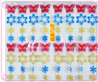 Wholesale 02 Home decoration for kids room decorative curtain plastic material Lovely gifts butterfly shaped width cm height cm