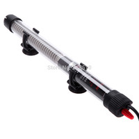 Wholesale 50w Aquariums Accessories Durable Submersible Heater Heating Rod for Aquarium Glass Fish Tank Temperature Adjustment V order lt no
