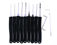 advances piece - Klom High quantity piece lock picks set with Tension Wrenches advanced locksmith tool SYG