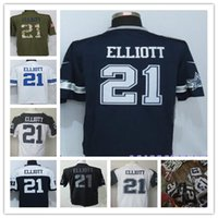 Wholesale 2016 NIK Elite Mens Cowboys Rugby Football Jerseys Ezekiel Elliott Navy blue thanksgiving green white rush shirts stitched Mix Order