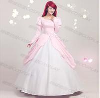 ariel womens costume - for womens ladies ariel princess costume ariel Mermaid costume fairy tale cosplay Barbie In A Mermaid Tale dress