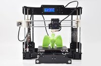 Cheap Top sale Upgrade Desktop 3D Printer Prusa i5 Size 210*210*210 mm Acrylic Frame LCD 2Kg Filament & 16G TF Card for Gift Fast Ship Free