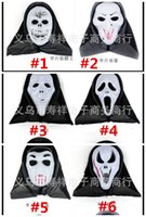 Wholesale Mask Halloween halloween mask party scary mask ghost mask face mask scream mask costume Skull Skeleton mask Halloween Costumes masks free sh