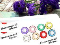 Wholesale Harajuku storm colors pairs pieces contact lens cosplay color lenses colors contacts HALLOWEEN crazy contact lenses