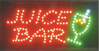 Wholesale 2016 direct selling Ultra Bright Inch led business juice bar store open sign led billboards