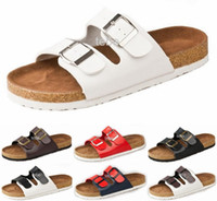 Wholesale 2016 Fashion Birkenstock Sandals Flats Flip Flops Slippers Women Men Sandal Shoes Woman Zapatos Mujer Sandalias Femininas Size