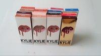 Wholesale 28colors moon trick Kristen Maliboo dirty peachSkylie Kylie Lip Kit by kylie jenner Velvetine Liquid Matte Lipstick in Red Velvet Lip Gloss