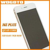 Tv Baratos-GooPhone I6S Clon teléfono MTK6582 Quad Core 1 GB de RAM de 8 GB Rom 4,7 pulgadas 6S 3G GPS Smartphone i6s VS 6S Plus Goodphone