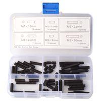 Wholesale Flat Point Set Screw M5 Assortment Kit Qty piece Grub Screws Thread Dia mm