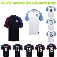 america cup soccer - 2016 European Cup USA BECKERMAN DEMPSEY WHITE Soccer Jerseys America ZUSI Football jersey United States de futbol survetement shirts