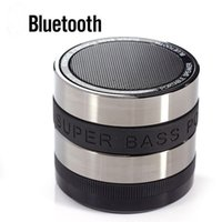Wholesale Bluetooth Wireless Speaker Mini Portable Super Bass Support TF SD Card For iPhone S Samsuang S7 Tablet PC