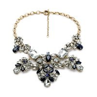 autumn party supplies - 2016 Flower pendant autumn new dress necklace Fashion Jewelry Factory Supply Lead Nickle free