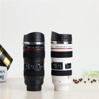 best thermos - Stainless Steel Vacuum Coffee Cup ml Flask Best Gift Lens Lid Thermos Camera Lens Mug as Canon Milk Tea Water Colors