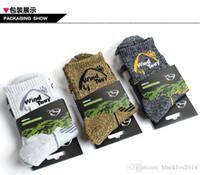 Wholesale 3pairs Brand Outdoor Socks For Men Autumn Winter Men s Calze Coolmax Moisture Skate Socks Medias Men Socks