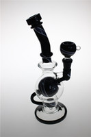 ball joint function - New Glass Water pipes Bongs Ball shape Rig dab Showerhead Perc Smoking Pipes Two Function Oil Rigs mm joint Height inch