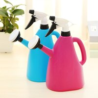 Wholesale 2 In Home gardening watering can Kettle hand pressure spray bottle sprinklers Irrigation container garden tools