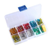 Wholesale 120pcs Assortment Auto Car Mini Blade Type Fuse A A A A A A new arrival