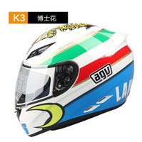 agv racing - Hot Sell AGV Helmets ABS Motorcycle Helmets Motorcycle Helmet Full Face Helmets Off road Racing Helmets for Motorcycle Helmets