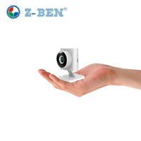 Wholesale Smallest ZBEN P HD1 Megapixel Wireless Mini IP Camera IPBM22 Z BEN Hidden IP Camera Support TF Card and P2P Plug Play