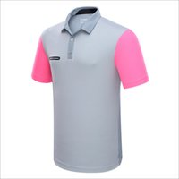 golf ball sleeves - Golf Sport T Shirts Men Summer Clothes Short Sleeve Solid Shirts Sportwear Ball Clothes Quick Dry Breathable Golf T Shirt