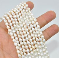 Wholesale New Noble Natural Fresh Water Loose Pearl Beads MM Fine Wedding Jewelry High Quality for
