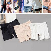 Cheap Wholesale-Women's Ladies Sport Short Dancing Tights Spandex Elastic Pants Safety Underwear