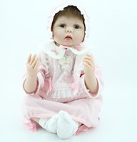 babies dolls that look real - 22 quot Soft Silicone Vinyl Lucas Bebe Doll That Looks Real Reborn Baby Dolls in Lovely Dress