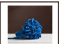 Cheap Handmade Bridal Wedding Bouquet Roses Bouquet Decorative For Wedding Flowers Bridal Wedding Wreaths Fashion 2016