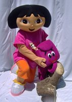 Wholesale 2016 high quality Dora mascot Costume apparel character
