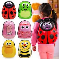 Wholesale The egg shell cute cartoon children bag baby kindergarten pupils child backpack boy girl