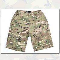 Wholesale Tactical Combat BDU Short Pants Camouflage Casual Quick Dry Pants Sport Airsoft Hunting Shorts EM7012 MC