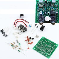 Wholesale QRP Pixie Kit CW MeteShortwave Receiver Transmitter MHz DIY Kits With Buzzer Short wave Radio Transmitter Receiver