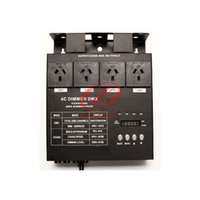 Wholesale 4 channel DMX dimmer switch pack with chase function suitable for LED stage lights and Lasers too