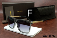Wholesale 2016 Tom quality sunglasses vintage sunglasses big box sun glasses Men and Women ford SUNGLASS with original box
