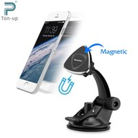 Wholesale Excelvan Magnetic Car Mount Holder Windshield Dashboard Phone Stand Degree Swiveling for iPhone Samsung Galaxy HTC LG Etc